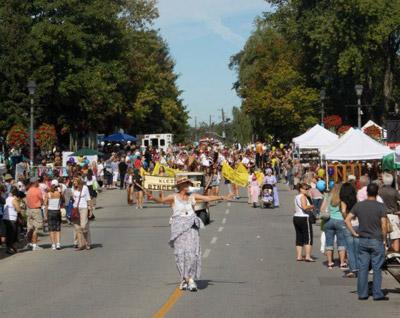 Binder Twine Festival  in Kleinburg Ontario